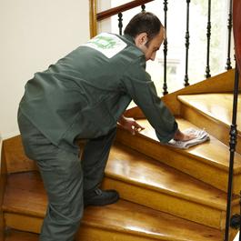 entretien des escaliers communs immeuble