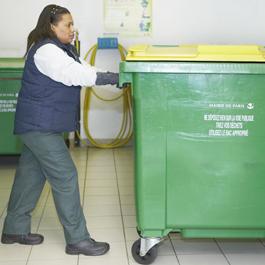 sortie des poubelles copropriété